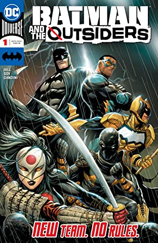 Batman & the Outsiders (2018-) No.1