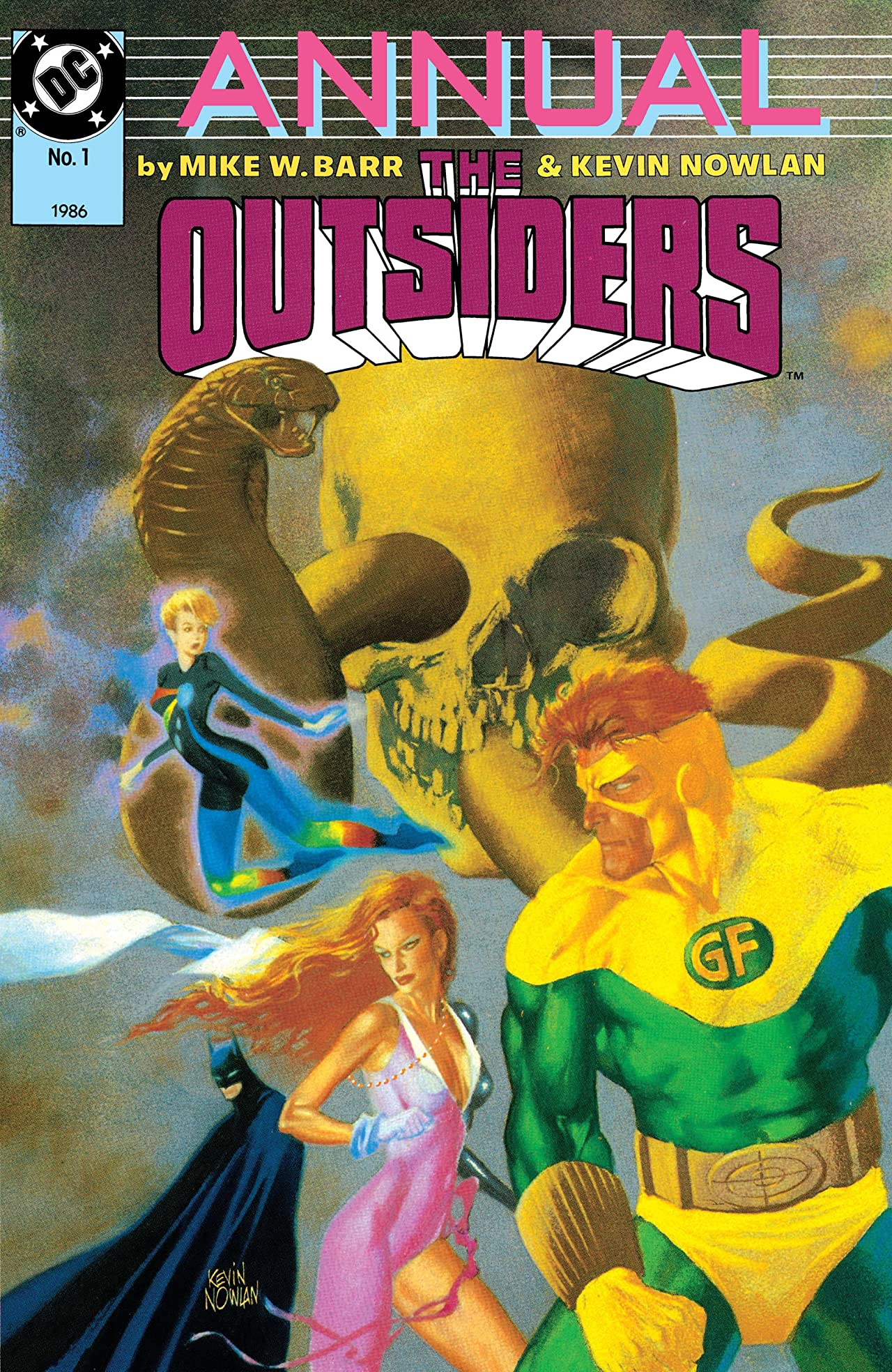 The Outsiders (1985-1988) Annual #1