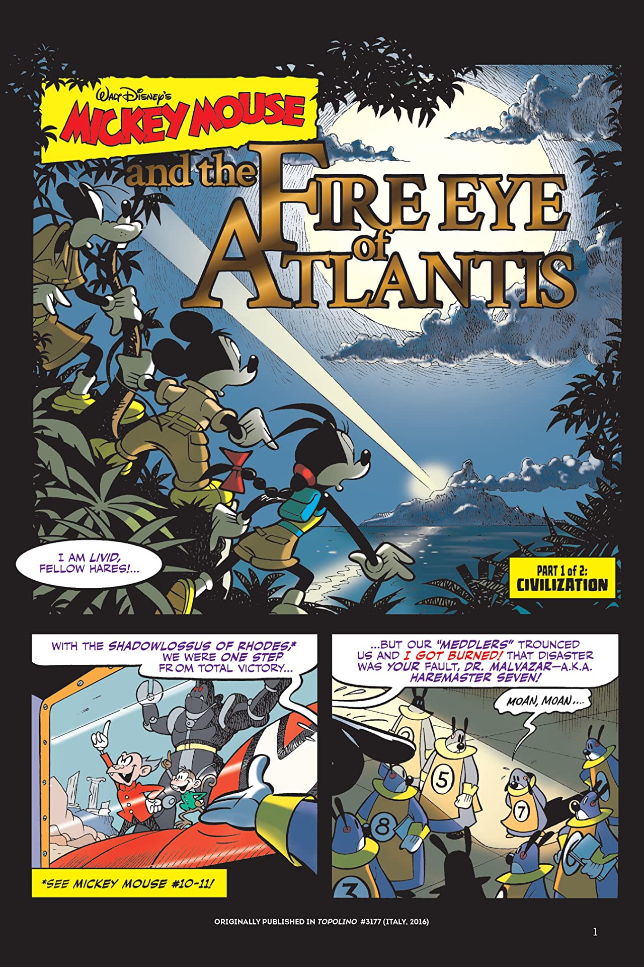 Mickey Mouse: Fire Eye of Atlantis