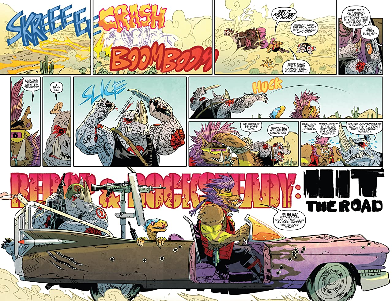 Teenage Mutant Ninja Turtles: Bebop & Rocksteady Hit the Road!