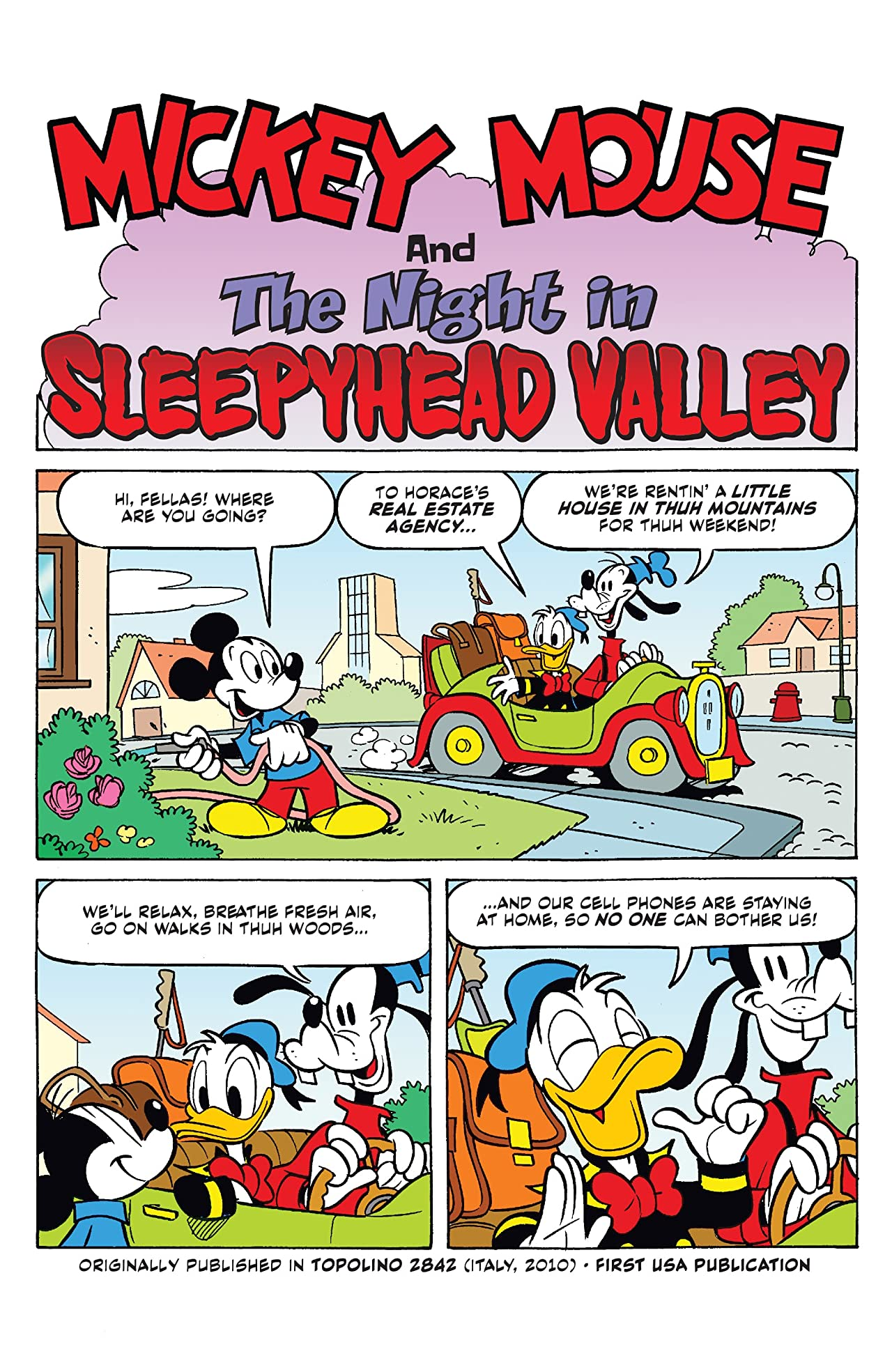 Disney Comics and Stories #3