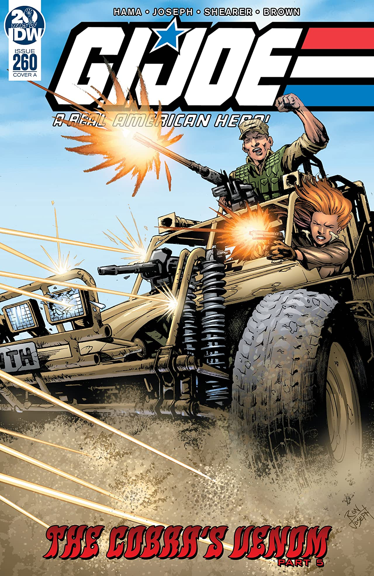G.I. Joe: A Real American Hero #260