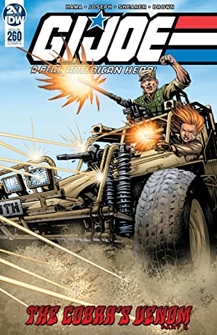 G.I. Joe: A Real American Hero No.260