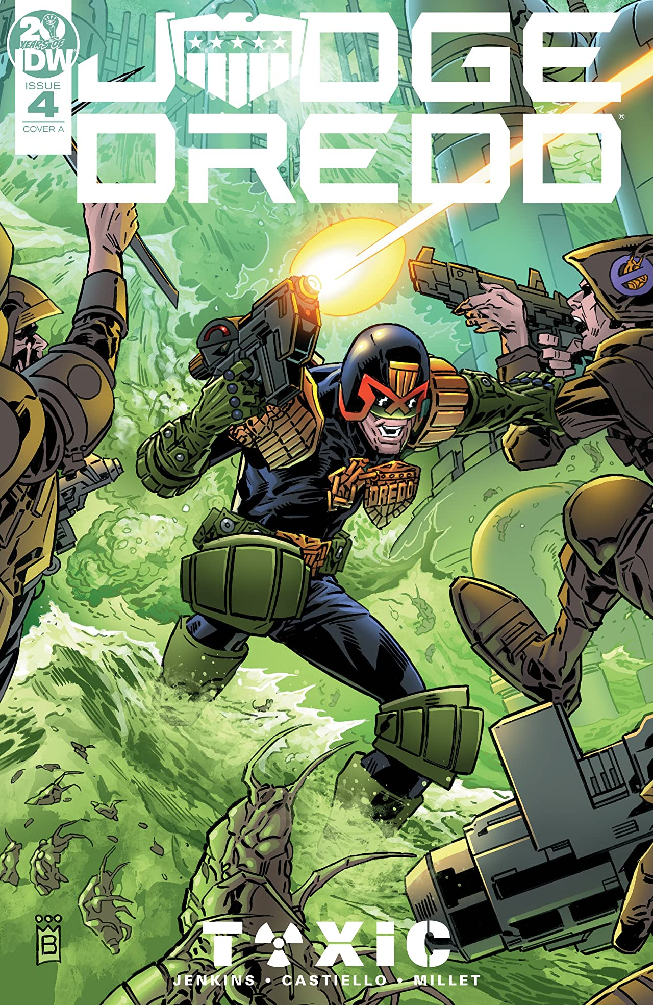 Judge Dredd: Toxic! No.4