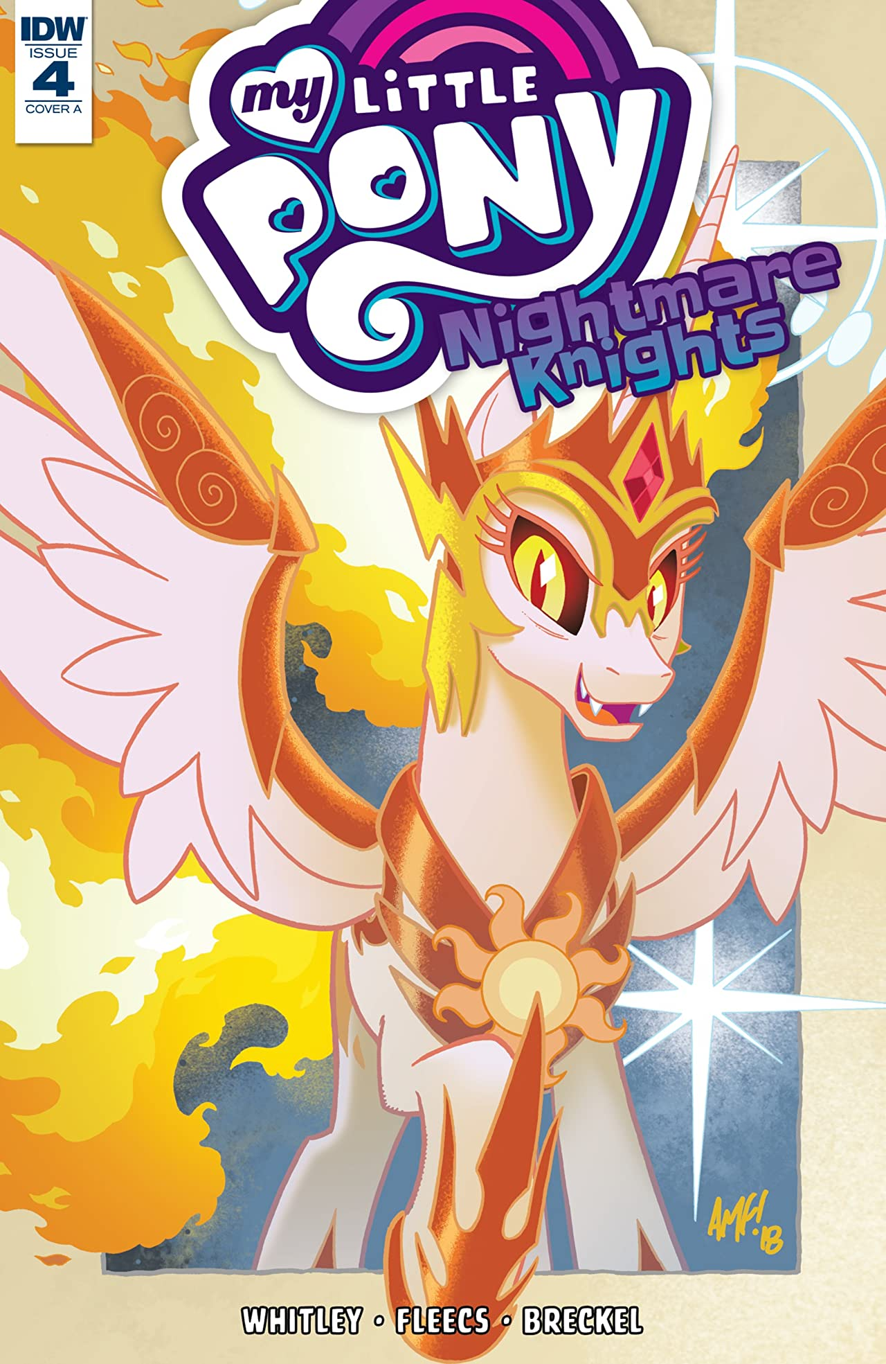 My Little Pony: Nightmare Knights No.4