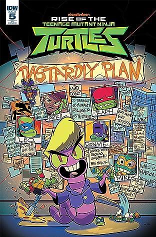 Teenage Mutant Ninja Turtles: Rise of the TMNT #5