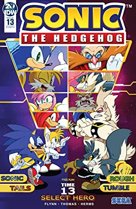 Sonic The Hedgehog (2018-) #13