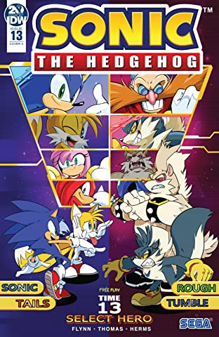 Sonic The Hedgehog (2018-) No.13