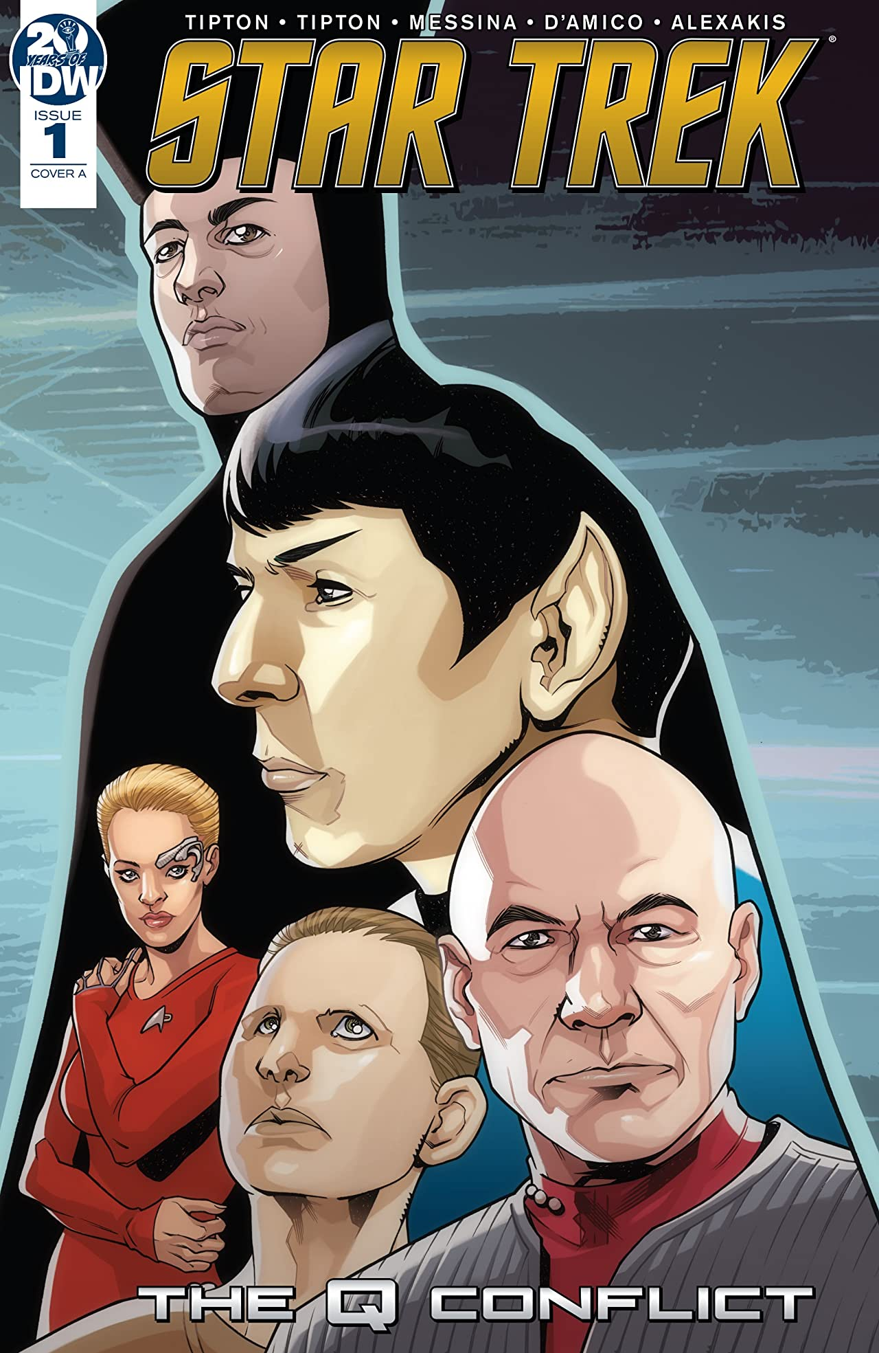 Star Trek: The Q Conflict No.1 (sur 6)