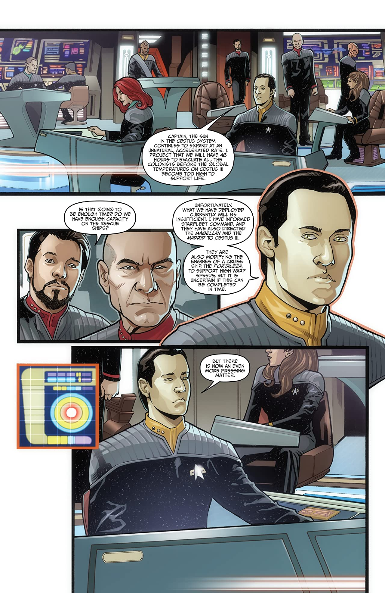 Star Trek: The Q Conflict #1 (of 6)