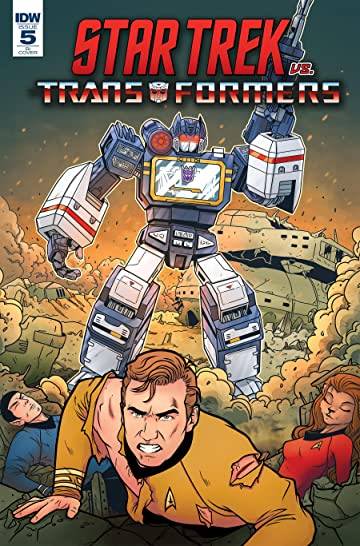 Star Trek vs. Transformers #5 (of 5)