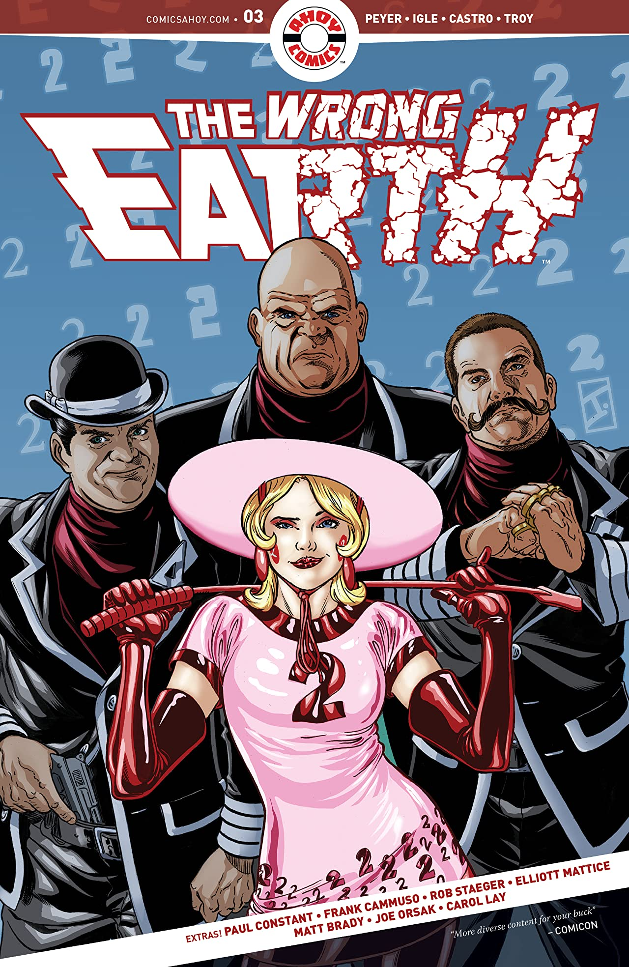 The Wrong Earth #3