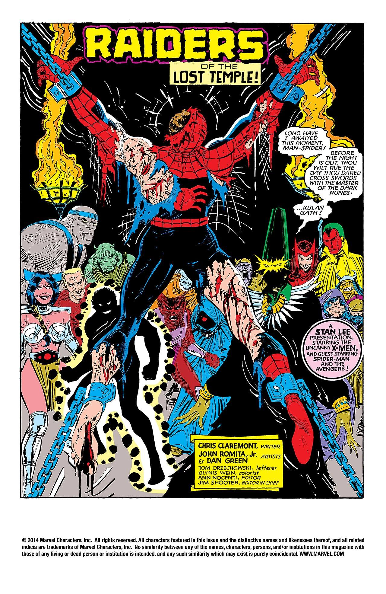 Uncanny X-Men (1963-2011) #191