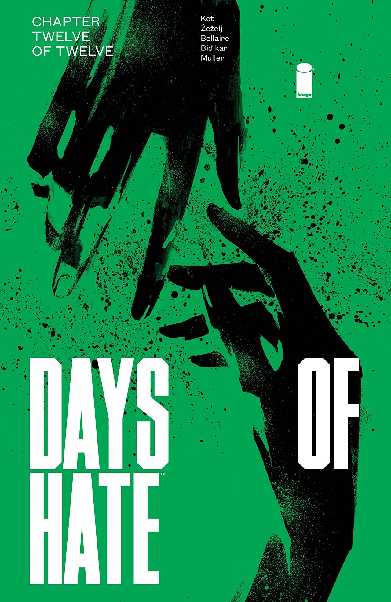 Days of Hate No.12