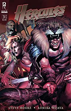Hercules: The Thracian Wars #3 (of 5)