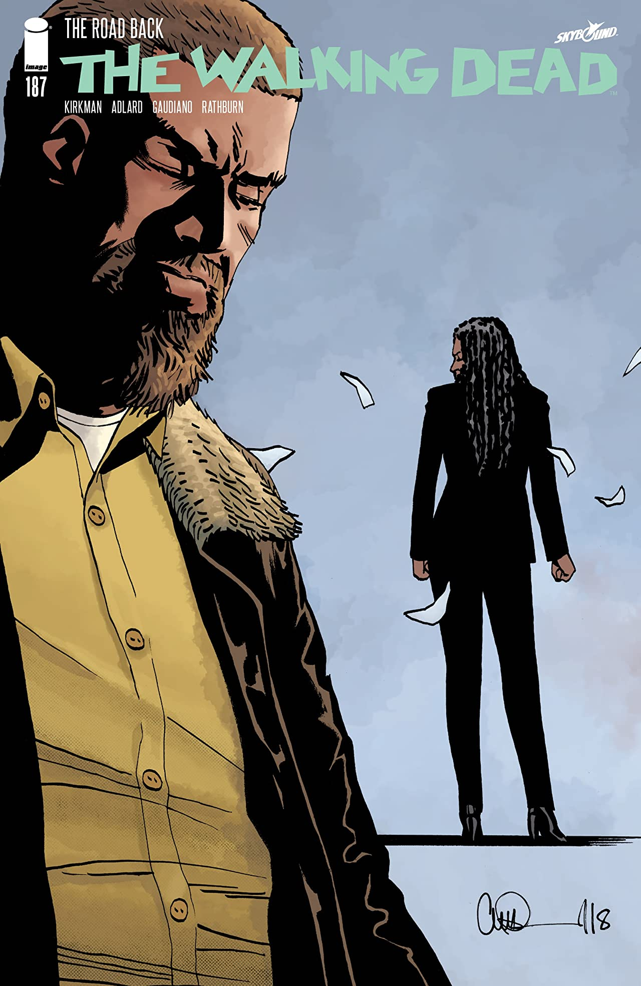 The Walking Dead No.187