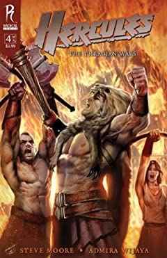Hercules: The Thracian Wars #4 (of 5)