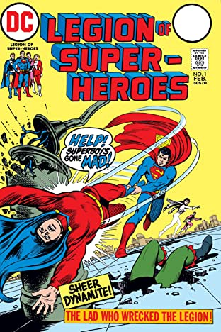 Legion of Super-Heroes (1973) #1