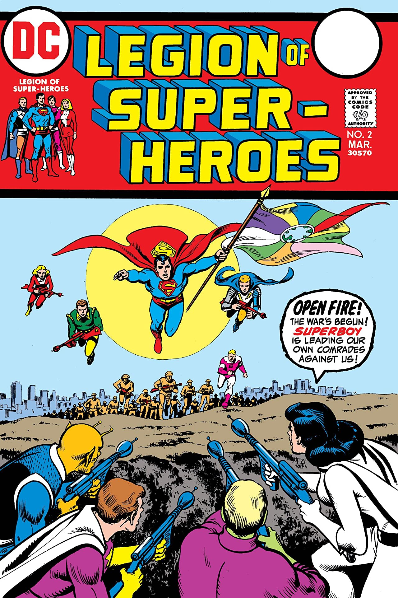 Legion of Super-Heroes (1973) #2