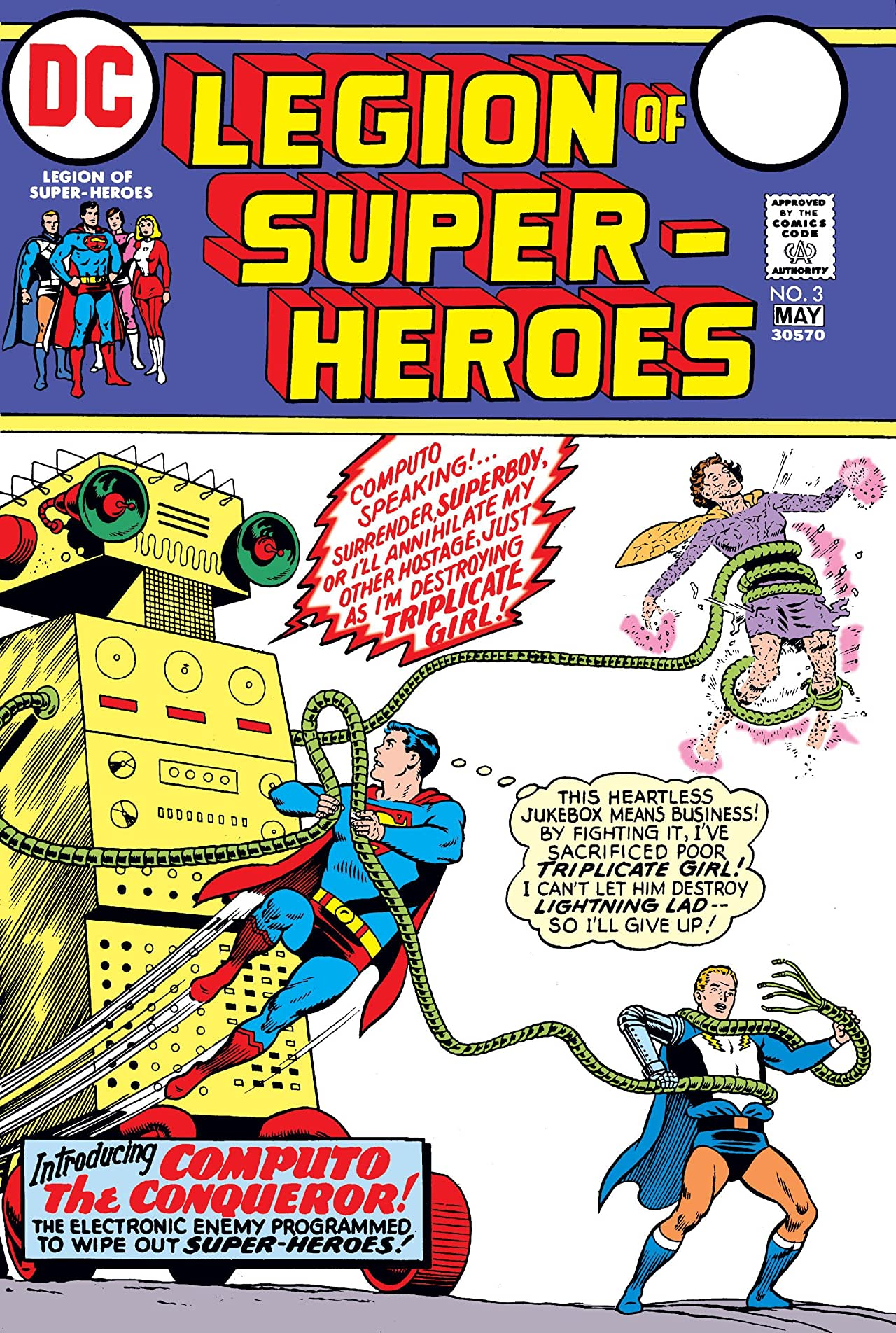 Legion of Super-Heroes (1973) #3