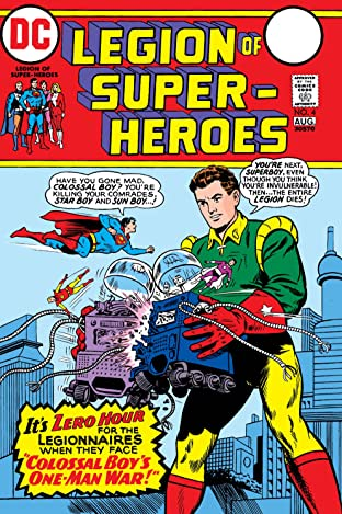 Legion of Super-Heroes (1973) #4