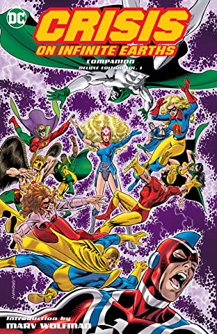 Crisis on Infinite Earths Companion Deluxe Tome 1