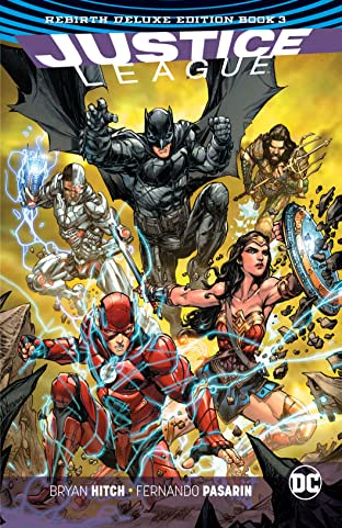 Justice League: The Rebirth Deluxe Edition - Book 3