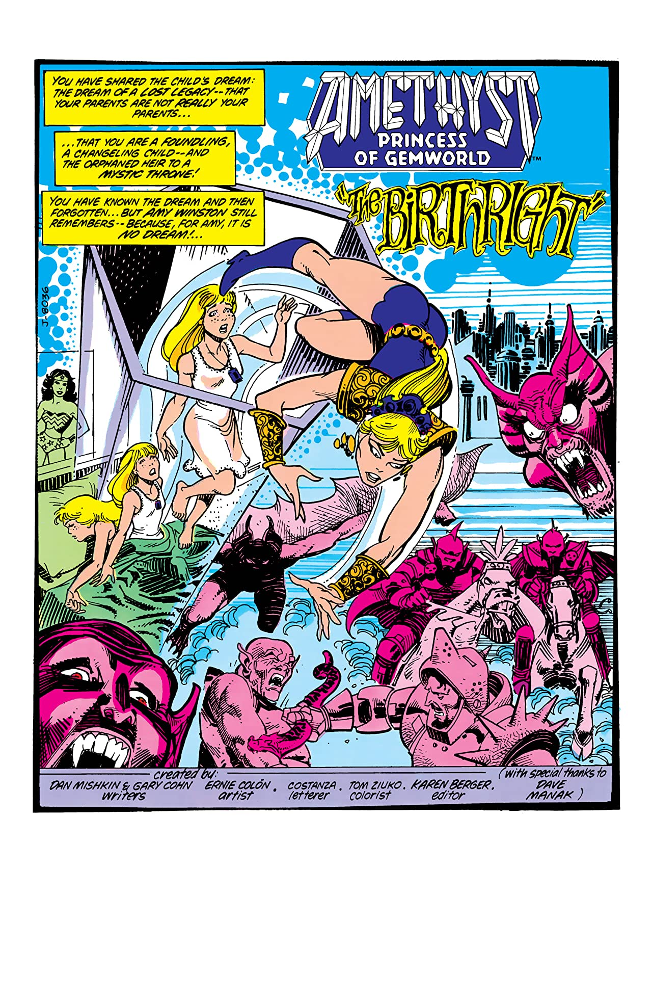Amethyst: Princess of Gemworld (1983-1984) #1
