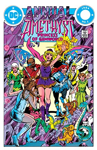 Amethyst: Princess of Gemworld (1983-1984) Annual #1