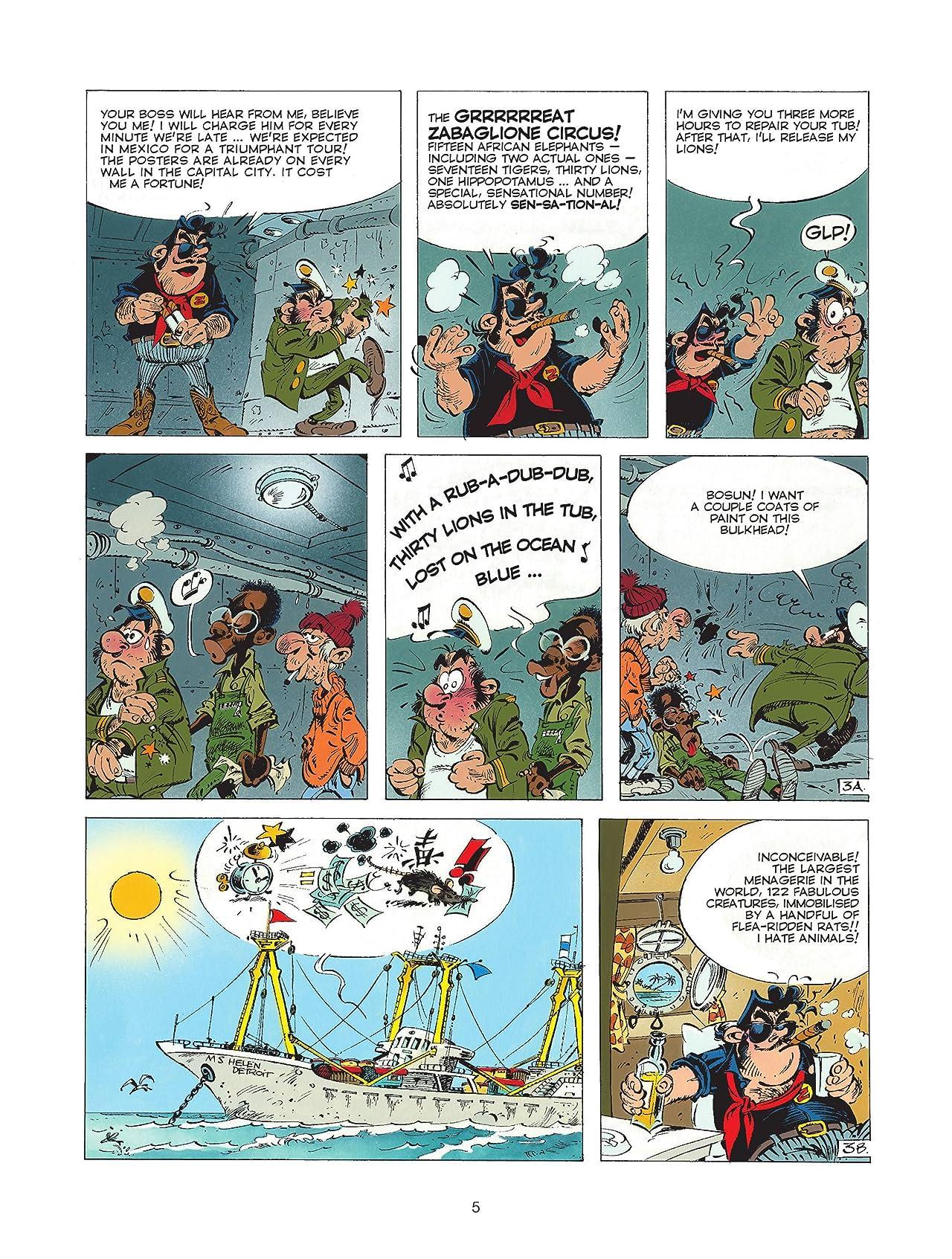 The Marsupilami Tome 3: Black Mars