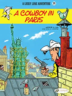Lucky Luke Vol. 71: A Cowboy in Paris