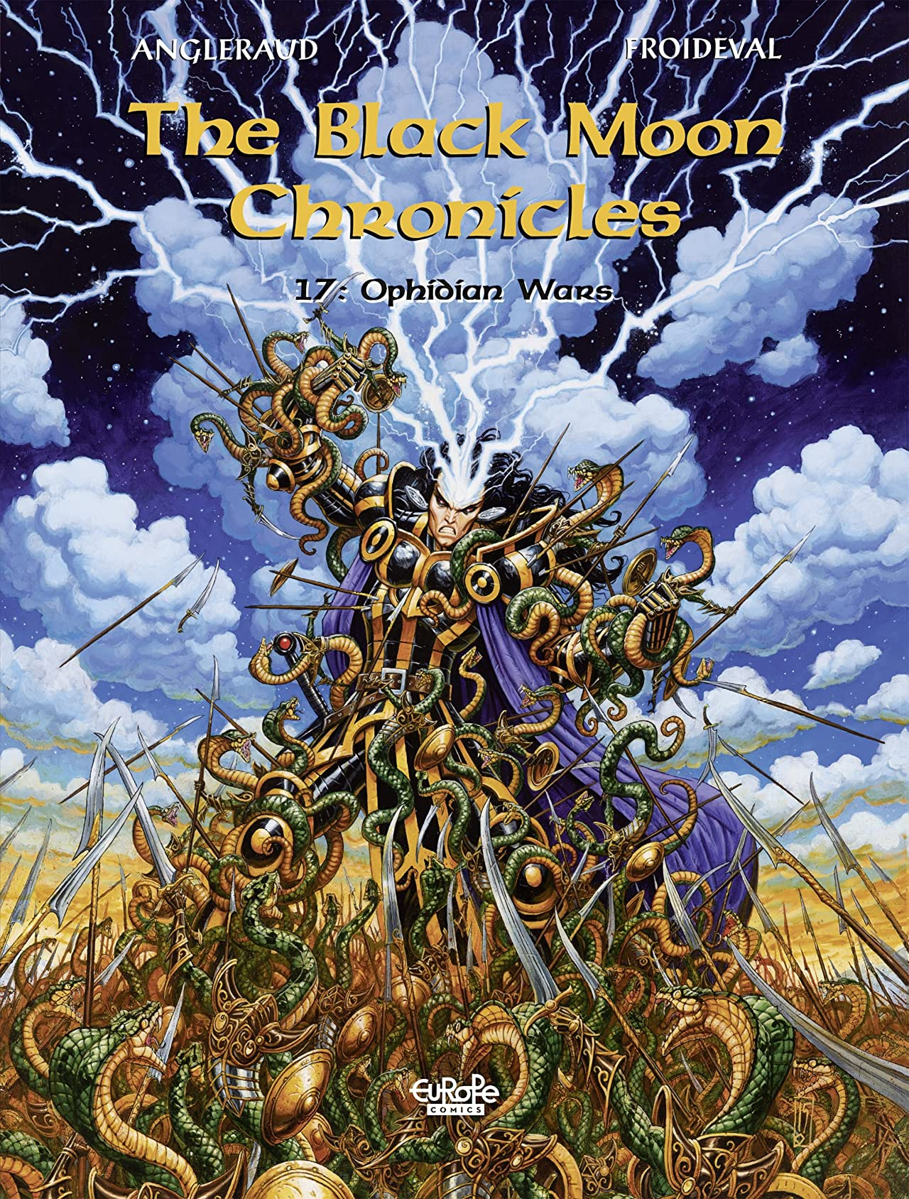 The Black Moon Chronicles Vol. 17: Ophidian Wars