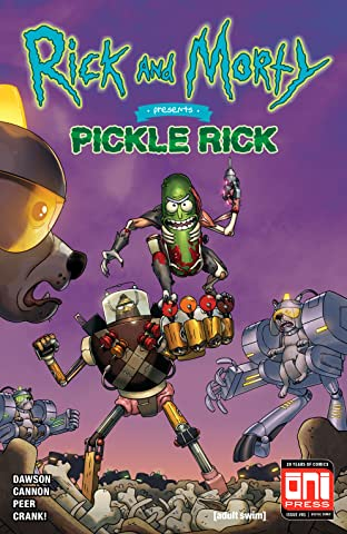 Rick and Morty Presents: Pickle Rick #1