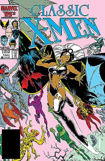 Classic X-Men (1986-1990) #4