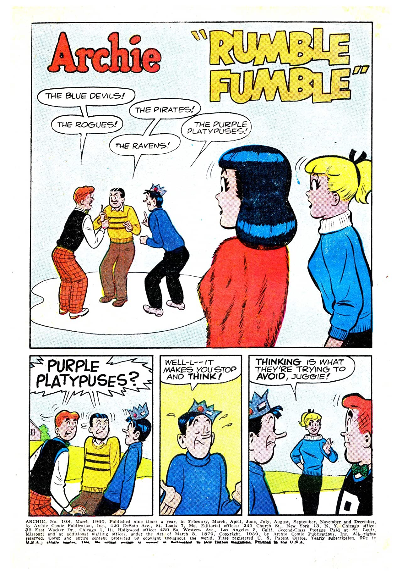 Archie #108