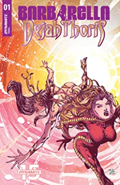 Barbarella/Dejah Thoris #1