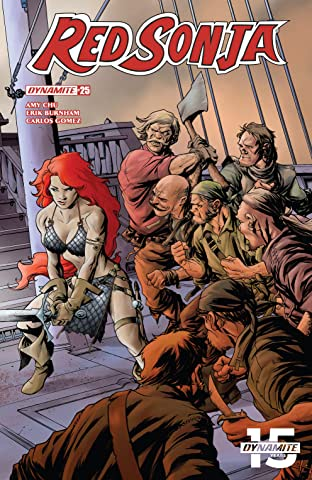 Red Sonja Vol. 4 No.25