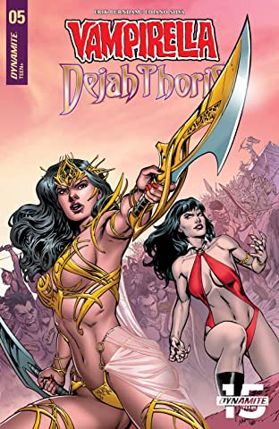Vampirella/Dejah Thoris No.5