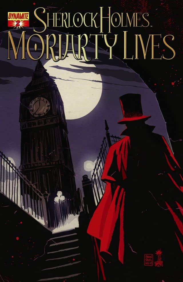 Sherlock Holmes: Moriarty Lives #2 (of 5): Digital Exclusive Edition