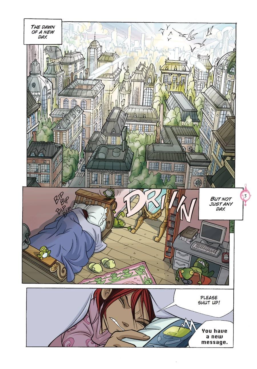 W.I.T.C.H.: The Graphic Novel, Part V. The Book of Elements Vol. 2