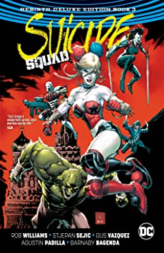 Suicide Squad: The Rebirth Deluxe Edition - Book 3