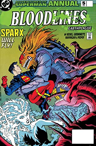 Adventures of Superman (1986-2006) Annual #5