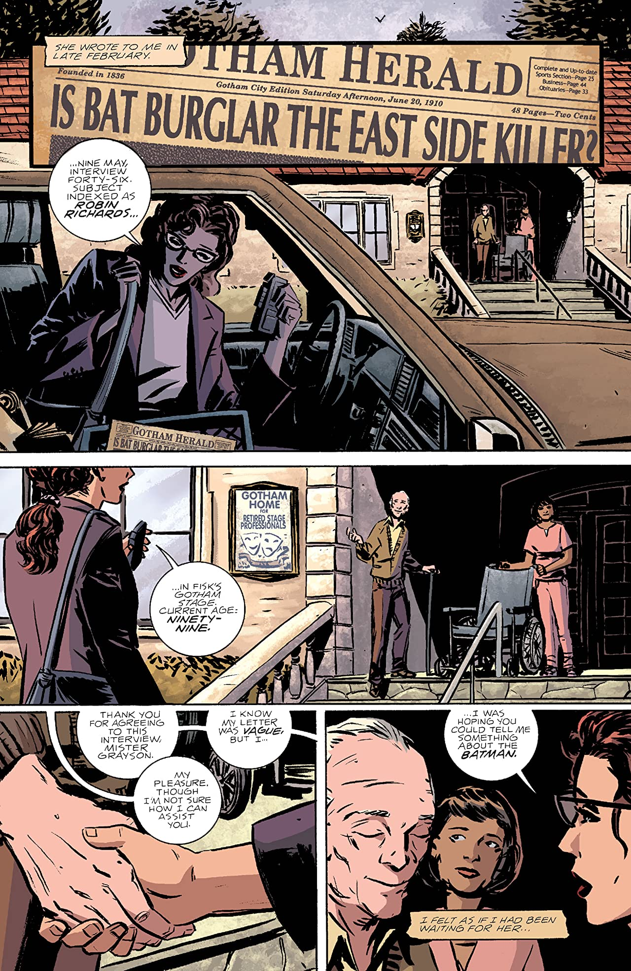 Batman: The Golden Streets of Gotham (2003) #1