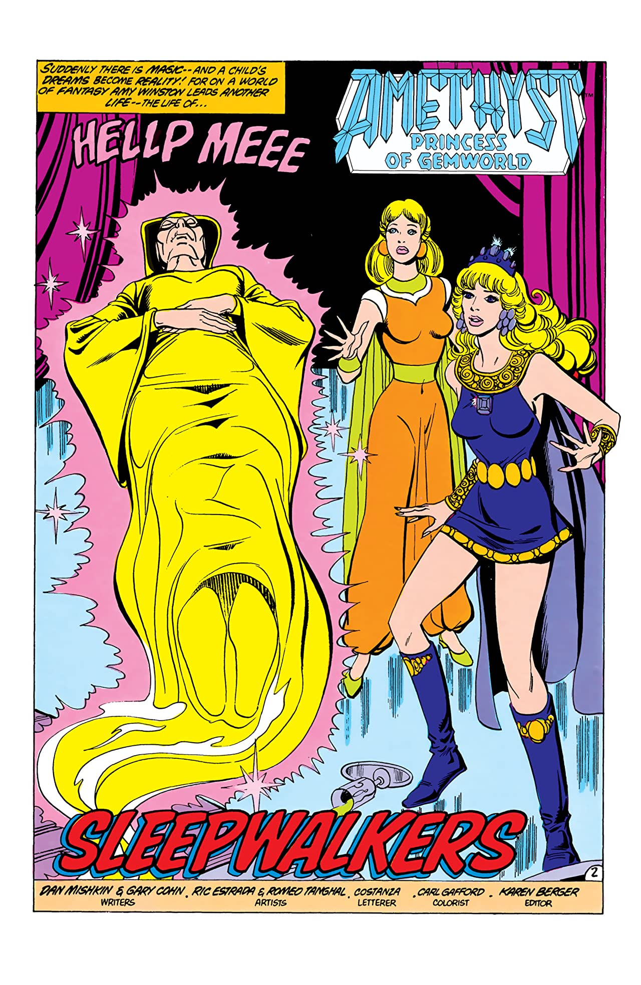 Amethyst: Princess of Gemworld (1985-1986) #2