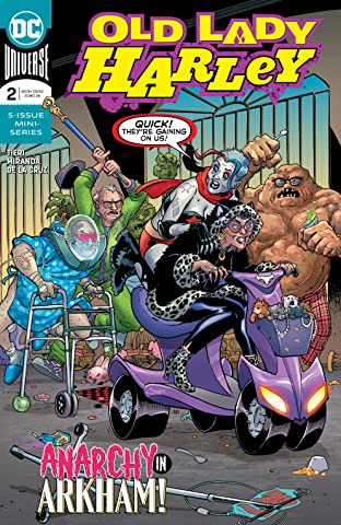 Old Lady Harley (2018-) #2