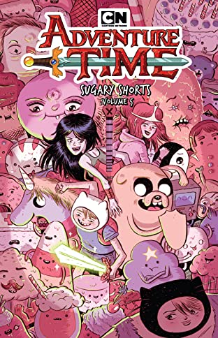 Adventure Time: Sugary Shorts Tome 5