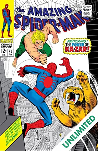 Amazing Spider-Man (1963-1998) #57