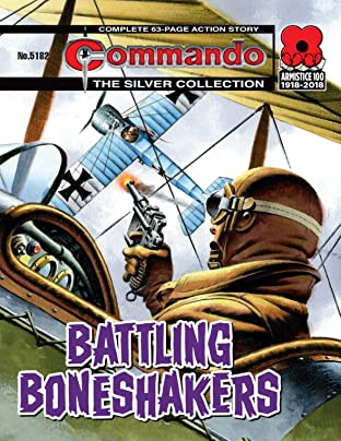 Commando #5182: Battling Boneshakers