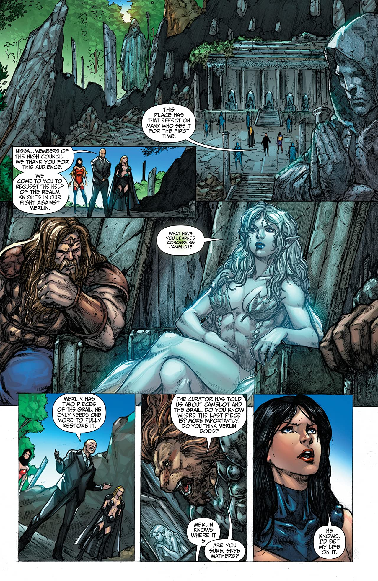 Grimm Fairy Tales Vol. 2 #24: Age of Camelot