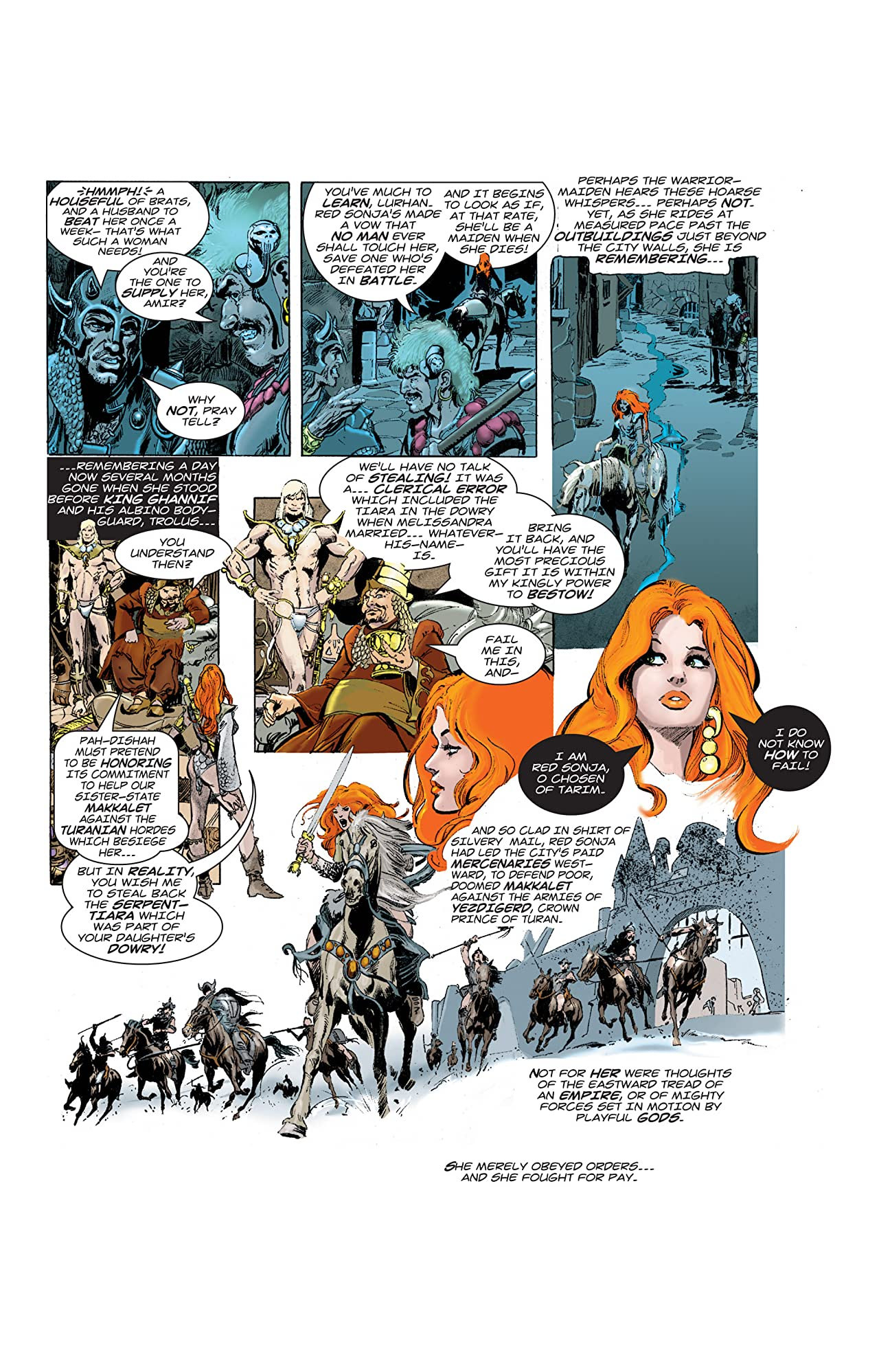 The Adventures of Red Sonja Vol. 1